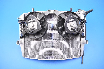 Radiator with Fans