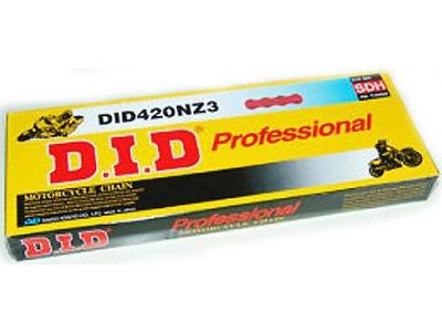 D.I.D. Gold/Black 420 NZ3 Super Non O-Ring Chain