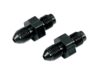 "Goodridge 3/8""-24 I.F. to 3/8"" Ebony Fitting for Universal Brake Line"