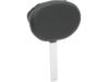 Drag Specialties Front Large Backrest Pad, Black