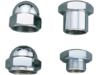 Colony Stem Nut, Domed Hex - Chrome  7619-1