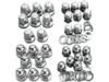 Colony Acorn Cylinder Base Nuts Kit  7813-8
