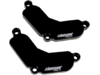 Driven Racing Engine Block Off Plates, Black  DSBLOCK-9