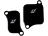 Driven Racing Engine Block Off Plates, Black  DSBLOCK-11