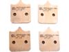 EBC GPFAX Front Brake Pads (2 Sets)