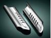 Kuryakyn Lower Leg Deflector Shields, Chrome