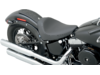 Drag Specialties Smooth Low Solo Front Seat, Black