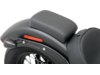 Drag Specialties Narrow Smooth Optional Rear Seat/Pillion Pad, Black