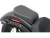 Drag Specialties Wide Smooth Optional Rear Seat/Pillion Pad, Black