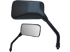 Parts Unlimited Plastic Black OEM Replacement Mirror