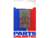 Parts Unlimited ATV/UTV Rear Ceramic Brake Pads