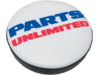 Parts Unlimited Logo,Replacement Stool, Blue,Red,White