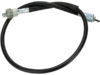 Parts Unlimited Black Tachometer Cable