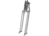 Drag Specialties +2 Springer Fork, Chrome