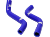 Moose Blue Performance Replacement Radiator Hose Kit