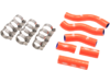 Moose Orange OEM Replacement Radiator Hose Kit