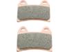 Drag Specialties Sintered Metal Front Brake Pads