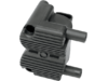 Drag Specialties .5 OHM Single-Fire Ignition Coil, Black