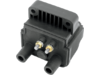 Drag Specialties 4 OHM Dual-Fire Ignition Coil, Black