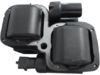 Drag Specialties OEM Replacement Ignition Coil, Black