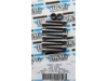 Drag Specialties Black Chrome Smooth Socket-Head Bolt Set