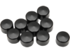 "Drag Specialties 1/2"" Allen Head Bolt Covers, Black"