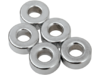 "Drag Specialties 1/4"" x 3/8"" Steel Spacer Kit, Chrome"