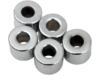 "Drag Specialties 1/4"" x 1/2"" Steel Spacer Kit, Chrome"