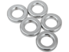 "Drag Specialties 5/16"" x 1/8"" Steel Spacer Kit, Chrome"