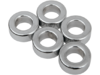 "Drag Specialties 5/16"" x 1/4"" Steel Spacer Kit, Chrome"