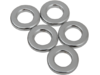 "Drag Specialties 3/8"" x 1/8"" Steel Spacer Kit, Chrome"