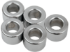 "Drag Specialties 3/8"" x 1/2"" Steel Spacer Kit, Chrome"