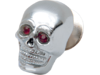 "Drag Specialties 1"" Skull w/ Red Eye Kromett"