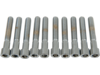 "Drag Specialties 1/4""-20 x 1 1/2"" Coarse-Thread Socket-Head Bolt, Chrome"