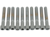 "Drag Specialties 1/4""-20 x 1 3/4"" Coarse-Thread Socket-Head Bolt, Chrome"