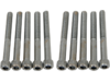 "Drag Specialties 1/4""-20 x 2 1/4"" Coarse-Thread Socket-Head Bolt, Chrome"
