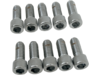 "Drag Specialties 5/16""-18 x 3/4"" Coarse-Thread Socket-Head Bolt, Chrome"