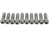 "Drag Specialties 5/16""-18 x 7/8"" Coarse-Thread Socket-Head Bolt, Chrome"