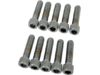 "Drag Specialties 5/16""-18 x 1 1/4"" Coarse-Thread Socket-Head Bolt, Chrome"