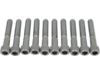 "Drag Specialties 5/16""-18 x 1 3/4"" Coarse-Thread Socket-Head Bolt, Chrome"