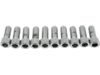 "Drag Specialties 3/8""-16 x 1"" Coarse-Thread Socket-Head Bolt, Chrome"