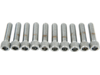"Drag Specialties 3/8""-16 x 1 1/4"" Coarse-Thread Socket-Head Bolt, Chrome"