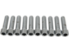 "Drag Specialties 3/8""-16 x 1 1/2"" Coarse-Thread Socket-Head Bolt, Chrome"