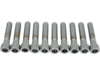 "Drag Specialties 3/8""-16 x 1 3/4 Coarse-Thread Socket-Head Bolt, Chrome"