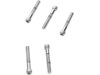 "Drag Specialties 1/4""-28 x 1 3/4"" Fine-Thread Socket-Head Bolt, Chrome"