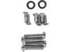 Drag Specialties Knurled Socket-Head Bolt Set, Chrome