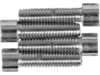 Drag Specialties Smooth Socket-Head Bolt Set, Chrome