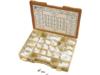 Drag Specialties Button-Head Bolt Assortment Kit, Chrome