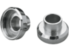 Drag Specialties Neck Post Bearing Cups, Chrome