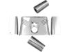 Drag Specialties Fork Tins, Chrome
